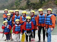 Family River Rafting